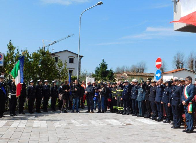 INAUGURATA STAMANI LA NUOVA SEDE DELLA POLIZIA MUNICIPALE DI FORTE DEI MARMI