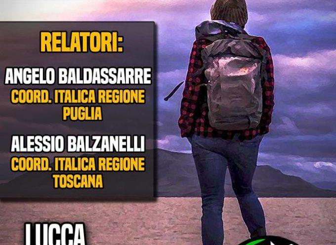 """""""PRESIDIO LUCCA: PRESENTAZIONE ITALICA SPORT E AVVENTURA"""""""
