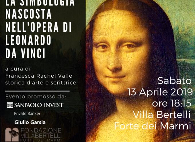 """Villa bertelli – """"La simbologia nascosta nell'opera di Leonardo da Vinci"""""""