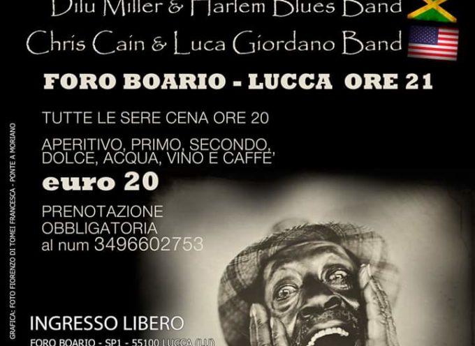 Al via la sesta edizione del Lucca Blues Festival