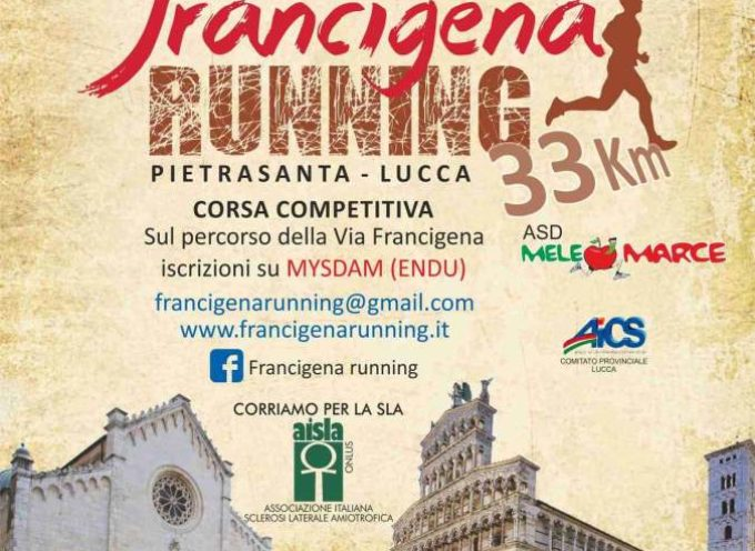 TURISMO SPORTIVO: BOOM FRANCIGENA RUNNING, PARTENZA IN CORSA DA PIAZZA DUOMO