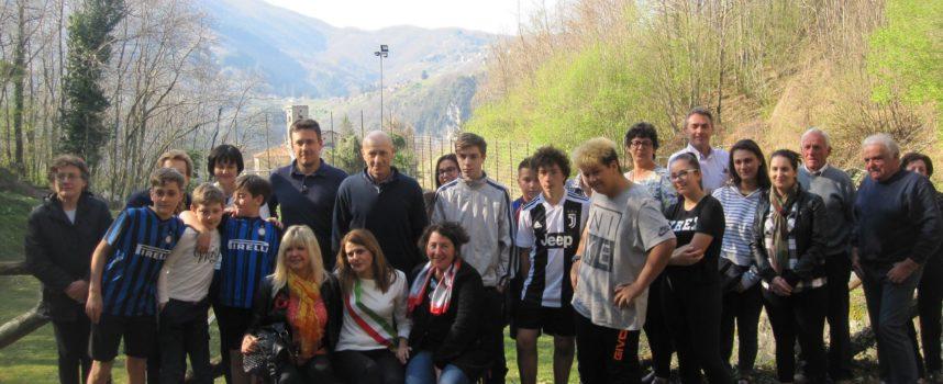 Domenica scorsa Inaugurata una panchina Rossa a Verni