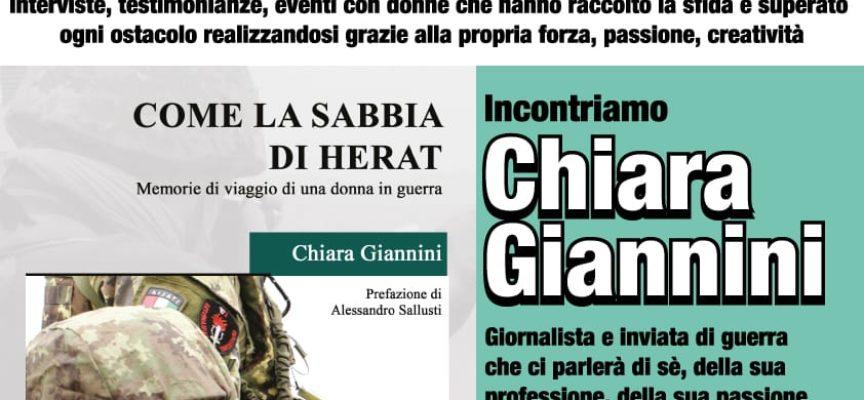 Professione Donna: incontro con Chiara Giannini in Sala Suffredini – Castelnuovo di Garfagnana