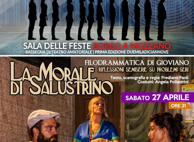 """si chiude il ciclo di appuntamenti a Borgo a Mozzano """"RASSEGNAMOCI"""" a cura dell'Ass. Il circo e la luna, in scena la Filodrammatica di Gioviano"""