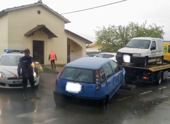 ALTOPASCIO – Rimossi due veicoli abbandonati da tempo sul territorio di Altopascio,