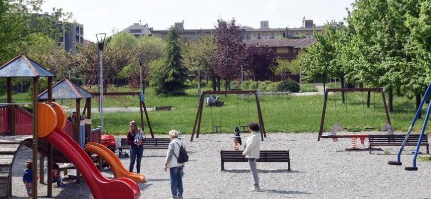 Nuovo Parco urbano di Sant'Anna: utilizzati materiali ecologici presto installati altri giochi inclusivi