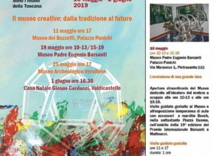 """Musei: """"Amico Museo"""" fa il pieno, weekend con Barsanti e l'invenzione del motore a scoppio"""