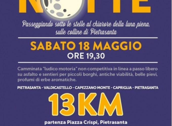 """Pietrasanta è """"Mille e una notte"""", aperte le iscrizioni a camminata in notturna con la torcia"""
