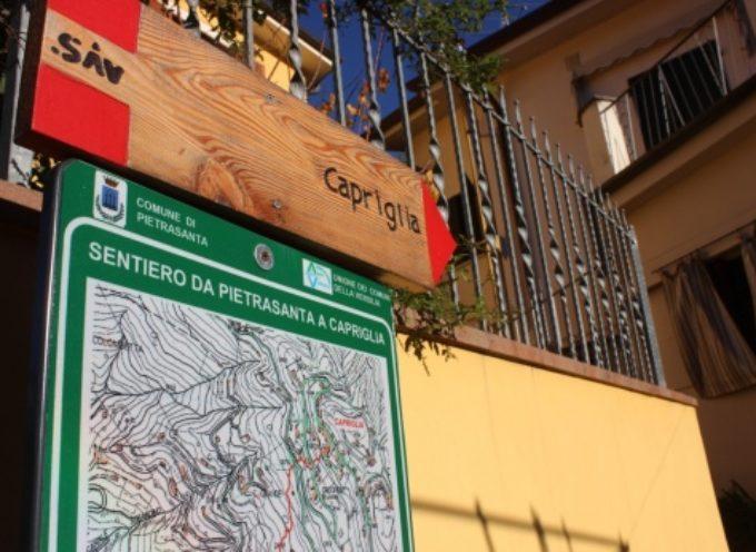trekking e turismo, comune pronto a recuperare antico sentiero panoramico da centro storico a Capezzano Monte