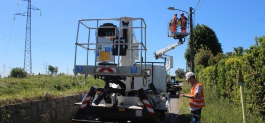 Illuminazione: venti nuovi punti luce al Pollino, lavori in dirittura d'arrivo
