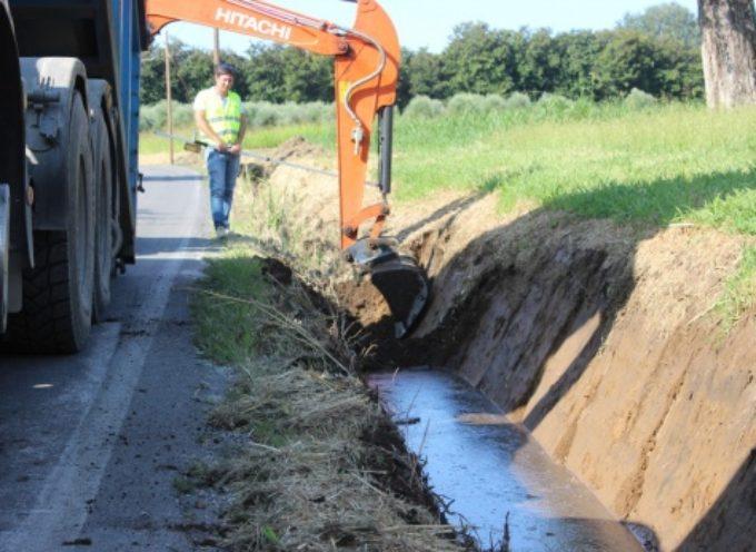 rischio idrogeologico-idrico, interventi in via Marella, via Buozzi e via Tonfano