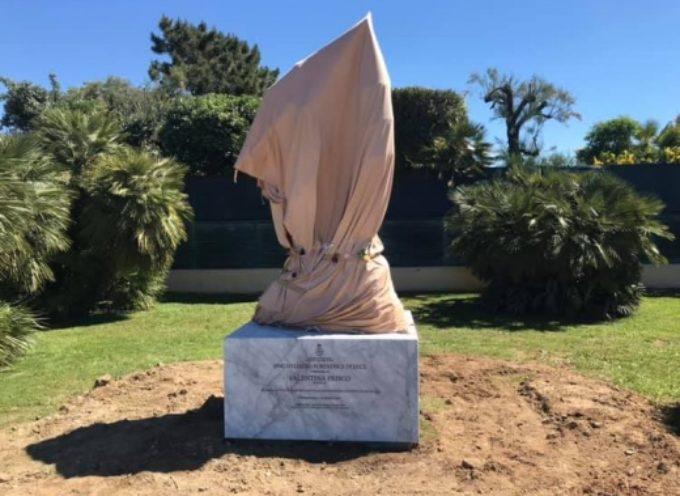 PIETRASANTA – Vittime della strada: una scultura per Valentina di Maria Gamundi,
