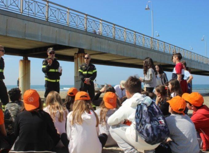 Festa della Sicurezza, a Tonfano 150 studenti a lezione