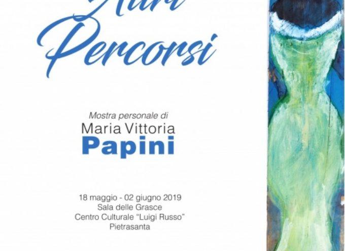 gli acquarelli esotici di Maria Vittoria Papini nella Sala delle Grasce,