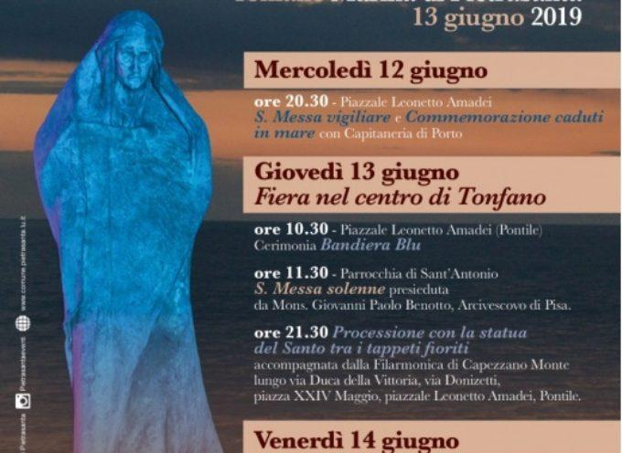 Fiera di Sant'Antonio a Tonfano, prorogato bando per commercianti e produttori