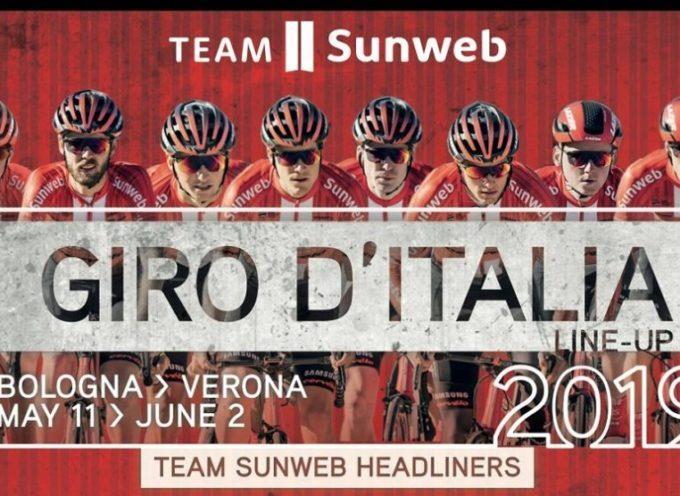 Il Team Sunweb presenta la squadra per il Giro: tanti scalatori per Dumoulin