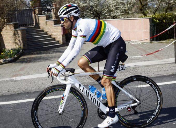 Il Giro d'Italia perde un grande protagonista, Alejandro Valverde non ci sarà