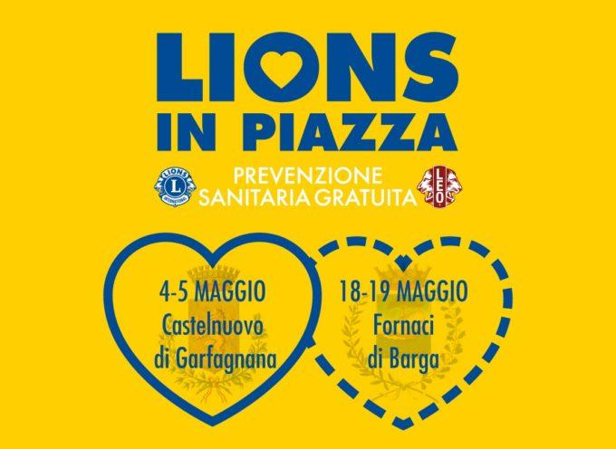 Lions in piazza per la prevenzione sanitaria gratuita