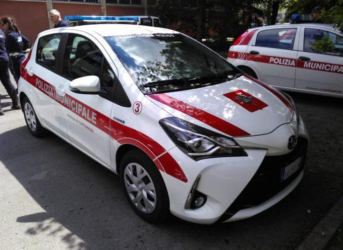 CAPANNORI – Guardate bella macchina ibrida che da oggi è a disposizione della nostra polizia municipale!