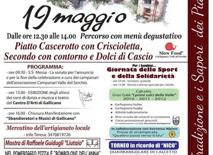 CASCIO – IN FESTA IL 19 MAGGIO