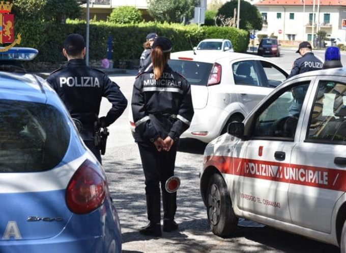 VIAREGGIO – POLIZIA MUNICIPALE E POLIZIA DI STATO, INSIEME, PER IL CONTRASTO ALLO SPACCIO E ALLA CLANDESTINITÀ