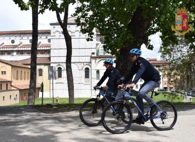Poliziotti di Quartiere in Bici a Lucca