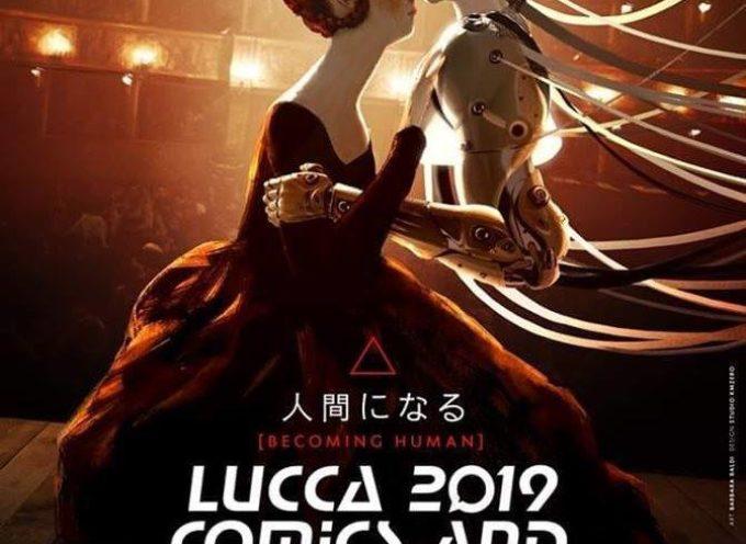 Complimenti a Barbara Baldi per il manifesto dell'edizione 2019 di Lucca Comics&Games,