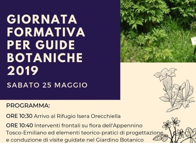 la giornata formativa per le nuove guide del Giardino Botanico Pania di Corfino.