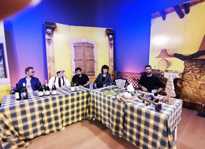 con la  Pro Loco in Tv a Pistoia su Tvl a promuovere i prodotti del territorio di Bagni di Lucca.