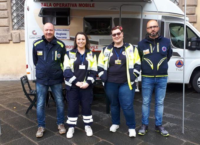 La Sala Operativa Mobile del Comune di Castelnuovo di Garfagnana al Festival del Volontariato 2019