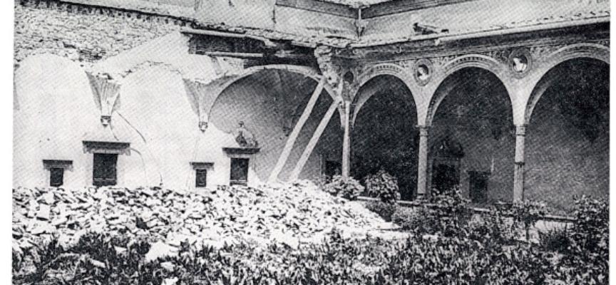 18 MAGGIO 1895: TERREMOTO DI FIRENZE (Fonte Wikipedia)