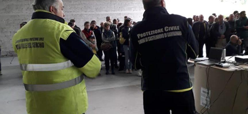 LA PROTEZIONE CIVILE DI CASTELNUOVO – STAMANI AL SAFETY DAY