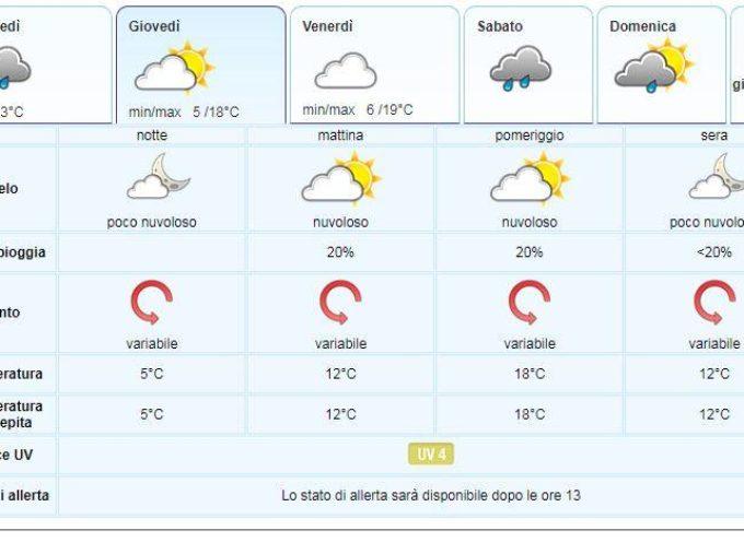 il Meteo del LAMMA Toscana; aggiornamento del  15 maggio #ValledelSerchio #MediavalleMeteo
