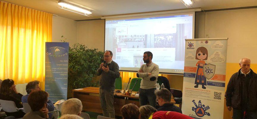 Siamo partiti!  Ieri abbiamo presentato il progetto la Protezione Civile bussa alla tua porta ai cittadini dell'Oltreserchio