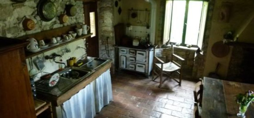 La cucina rustica di campagna: