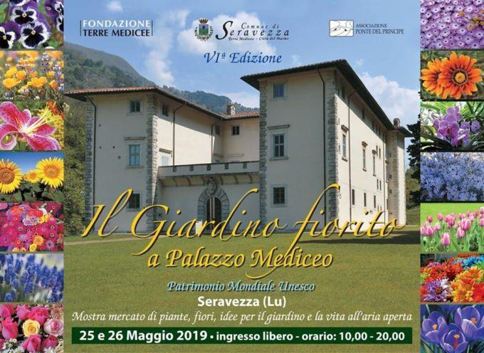 """sabato e domenica torna """"Il Giardino Fiorito"""" a Palazzo Mediceo,"""