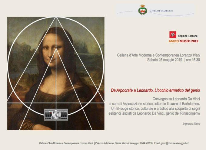 VIAREGGIO – AMICO MUSEO: TERZO APPUNTAMENTO ALLA GALLERIA D'ARTE MODERNA E CONTEMPORANEA