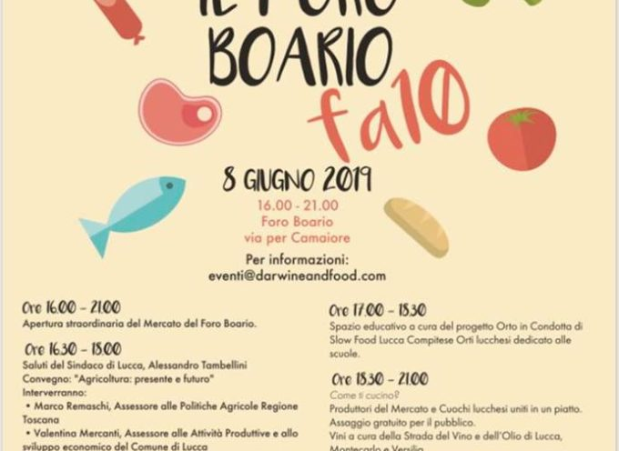 Il Foro Boario fa 10! Buon compleanno Mercato Contadino di Lucca