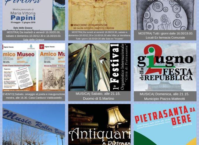 PIETRASANTA – Tutti gli eventi della settimana!