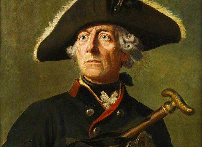 Il 31 maggio 1740 Federico II Hohenzollern (Federico il grande) è incoronato re di Prussia.