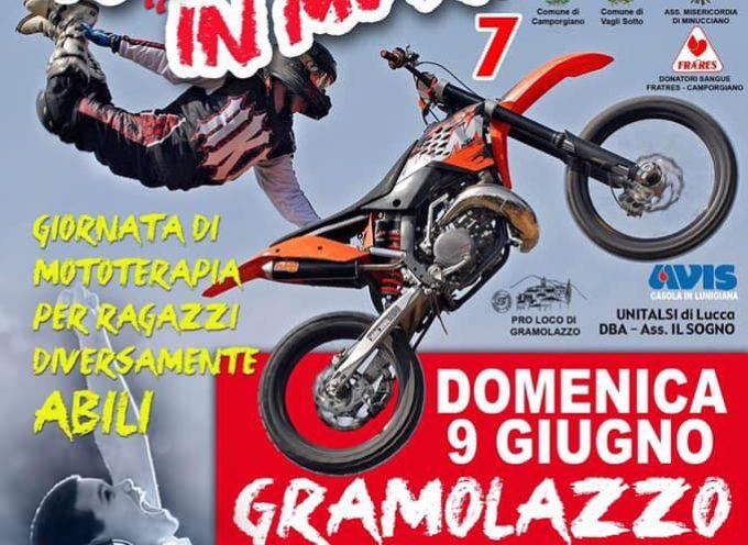 DOMENICA 9 Giugno 2019  TUTTI IN MOTO  Giornata di mototerapia per ragazzi diversamente abili.