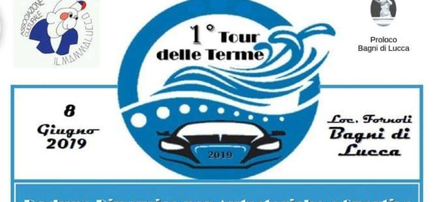 Tour delle Terme alla 1ª edizione a Fornoli; Bagni di Lucca