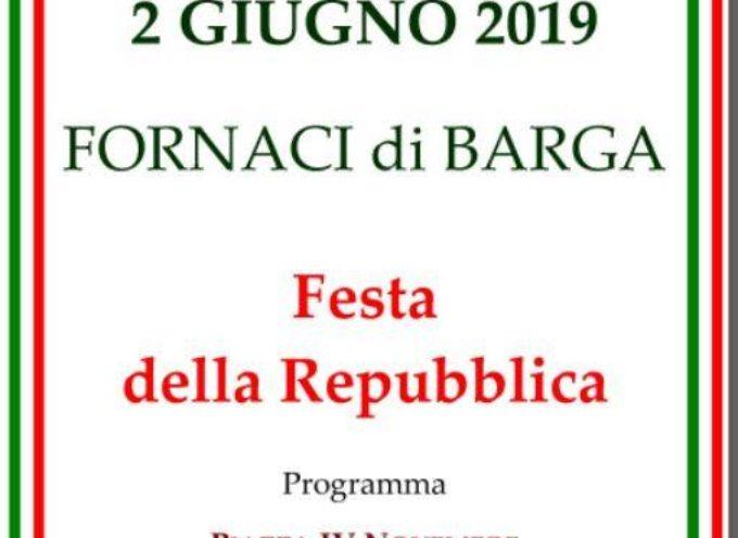 IL 2 GIUGNO FESTA DELLA REPUBBLICA A FORNACI DI BARGA