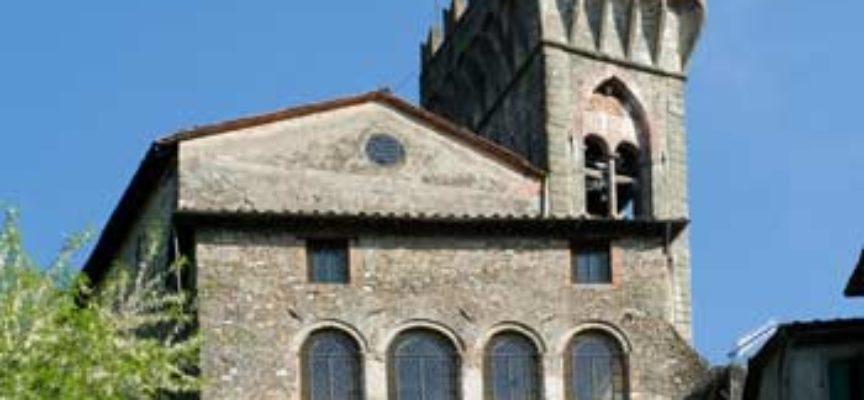 Chiesa dei Santi Pietro e Paolo  A Ghivizzano,  nel comune di Coreglia Antelminelli