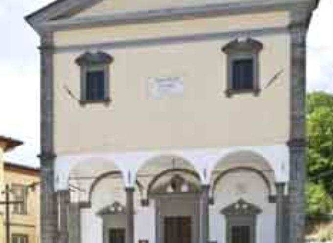 il Santuario di Nostra Signora del Perpetuo Soccorso a Corfino,