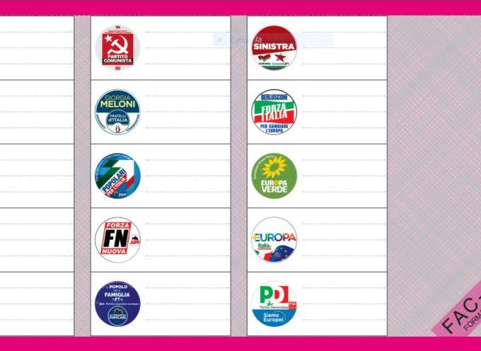 Elezioni europee 2019 – Come si vota