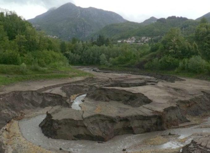 Enel ha svuotato la diga più antica della Valle del Serchio