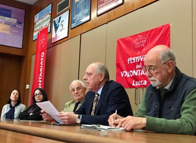 Lucca, da venerdì prossimo la 3 giorni del Volontariato