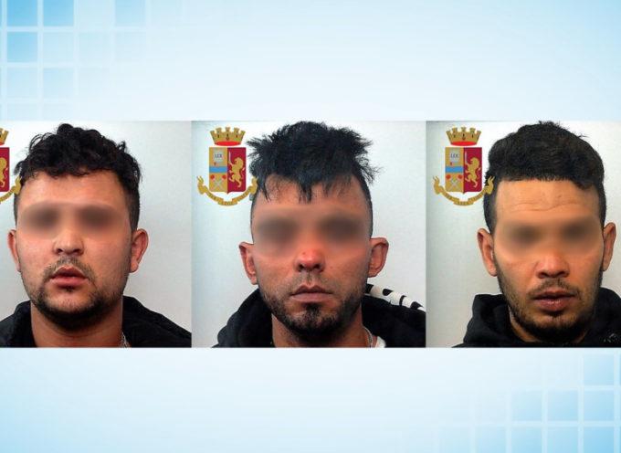 Arrestati tre pusher di eroina