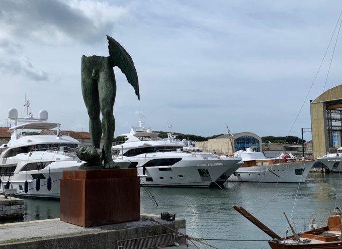 Versilia Yacht: creature in bronzo Mitoraj e bozzetti animano la darsena viareggina,notte di eventi, shopping e spettacoli nel centro storico Pietrasanta